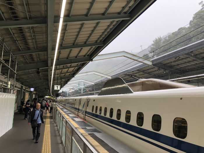 Shinkansen-station i Kobe