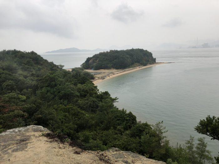 Utsikt från Okunoshima