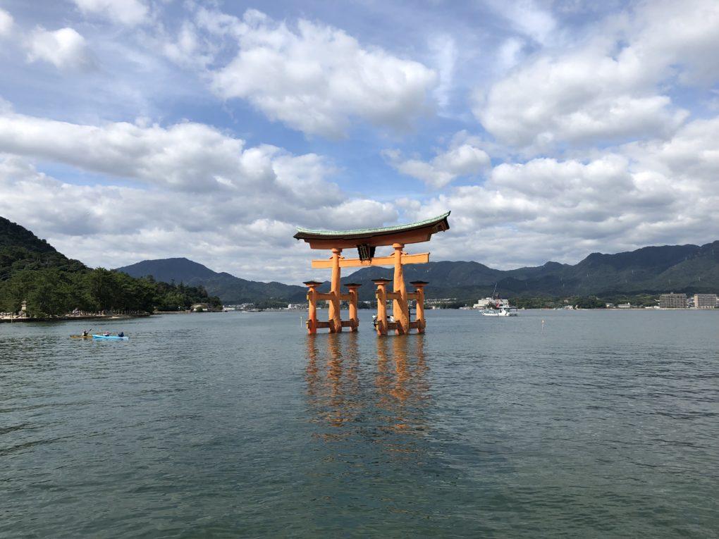 Torii-porten i Miyajima