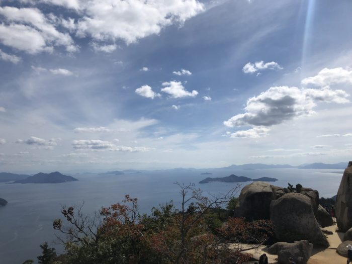 Utsikt från Mount Misen