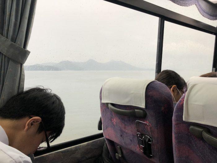 Utsikt från buss
